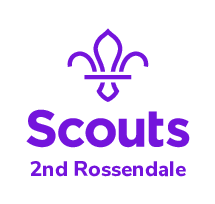 2nd Rossendale Scout Group and Band Logo